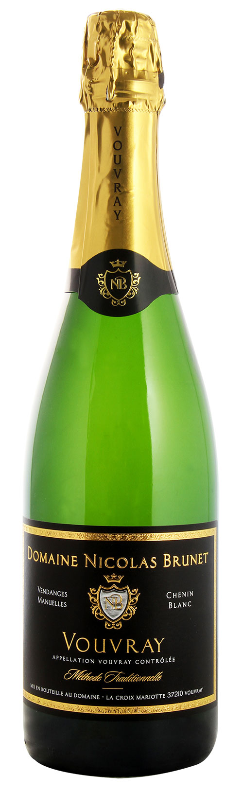 VOUVRAY AOC MÉTHODE TRADITIONNELLE BRUT 2013